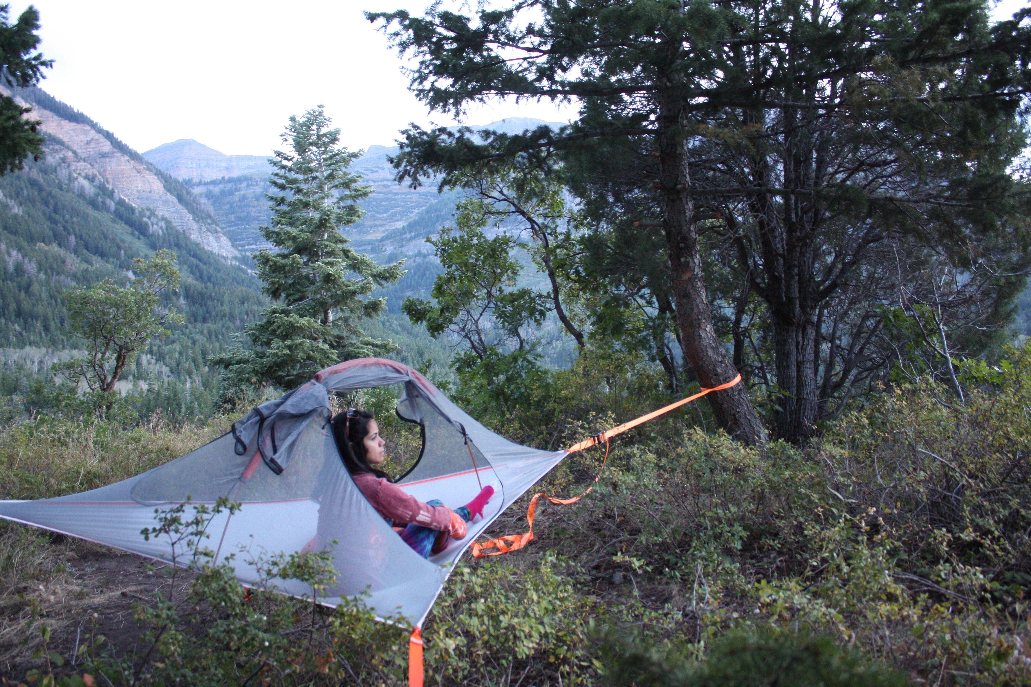 company tent tree tentsile adventure camping hammock idlewild