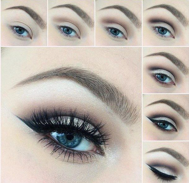 How To Apply Eye Makeup For Blue Green Eyes Makeup
