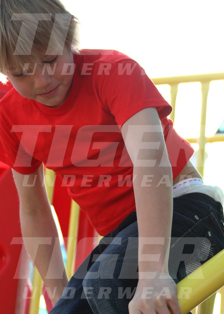Boy's Tiger Training Pants (4 Panel Front and Back) with Step-Ins ...