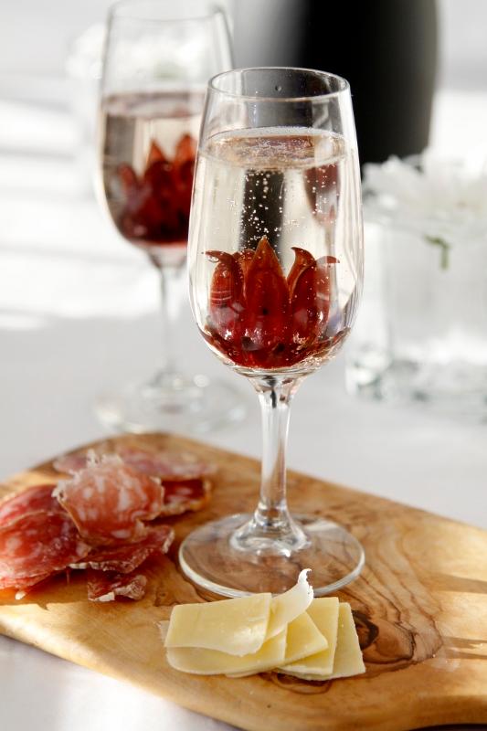 Wild Hibiscus Prosecco Cocktails Recipe Prosecco Cocktails Hibiscus Food