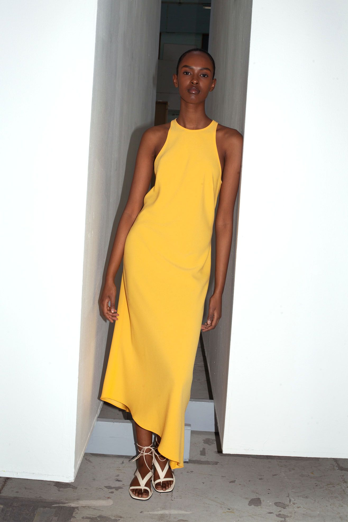 NOMIA, Racerback Bias Dress, Sole  