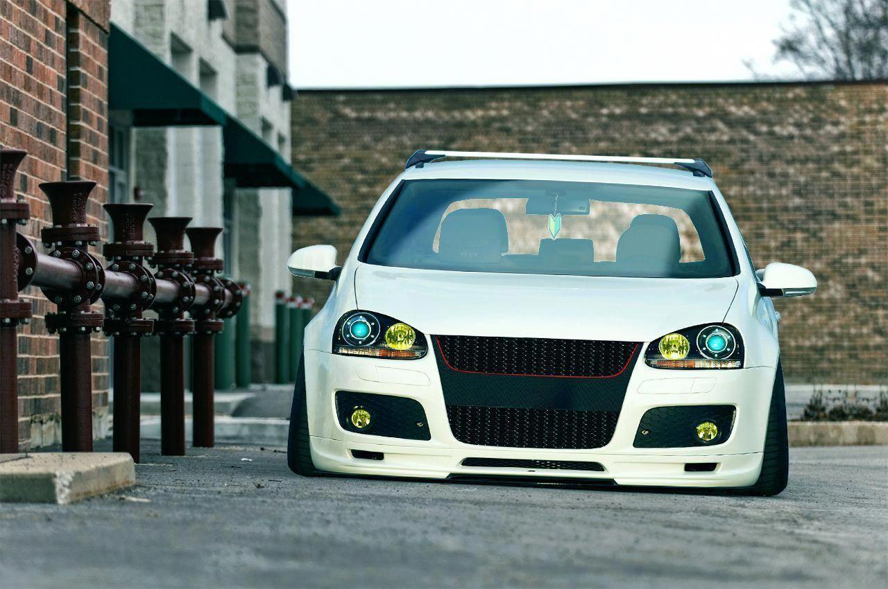 VW GTI Golf VWPoloMk5art CustomVWCC Autos vw, Coches