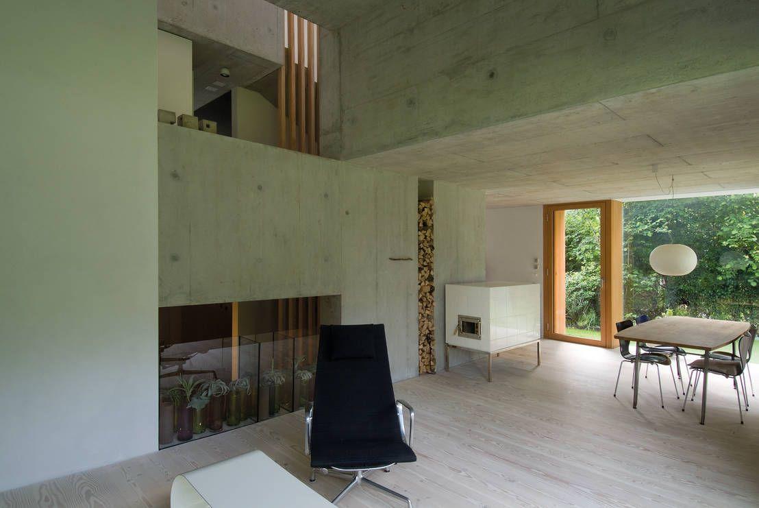 Edles Wohn-Duo   Wohnkultur, Halle und Architekten
