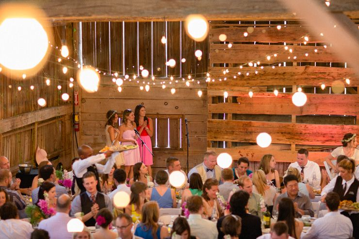 Beautiful barn wedding at Cambium Farms for Ros and Dan's ...