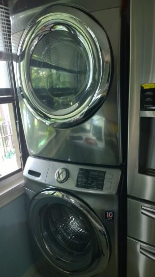 Samsung 27 In Washer And Dryer Stacking Kit Skk 7a The Home