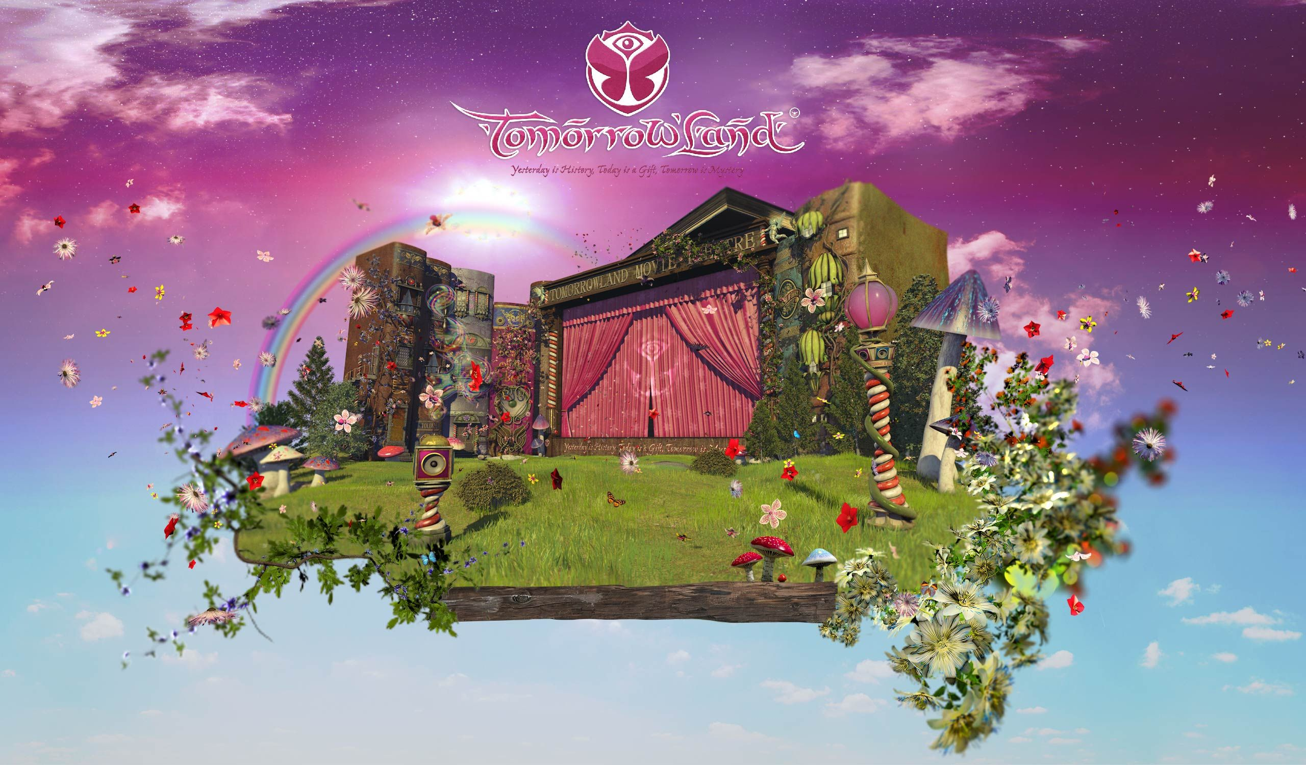 Tomorrowland 2012 hd wallpapers, logos, and some ranting ... Tomorrowland 2012 Wallpaper