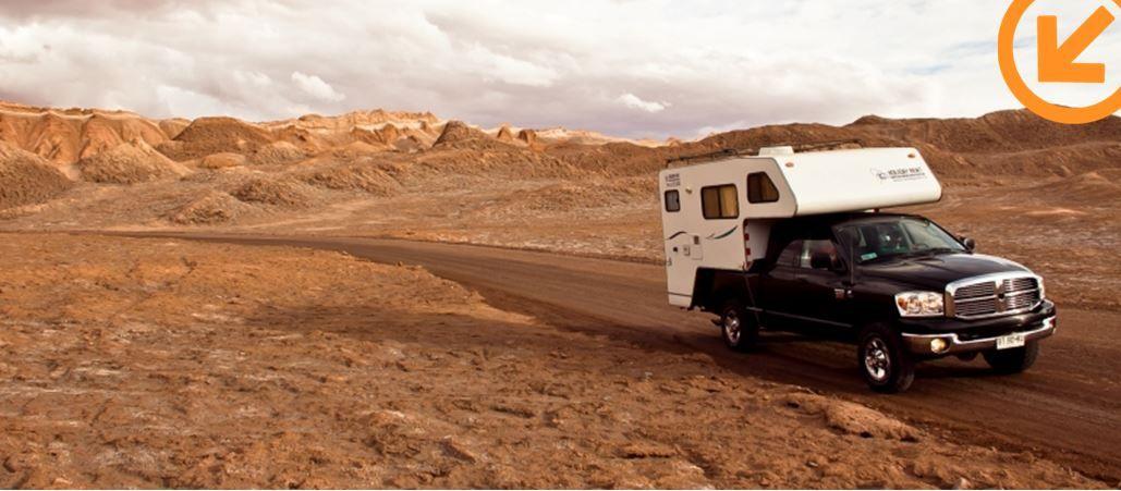 Geniet van ultieme vrijheid tijdens je camperreis door Chili