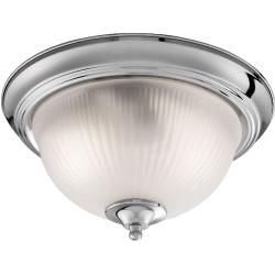 Photo of Searchlight ceiling lamp American Diner – chrome chrome, Ip20, glass 4042 SearchlightSearchlight