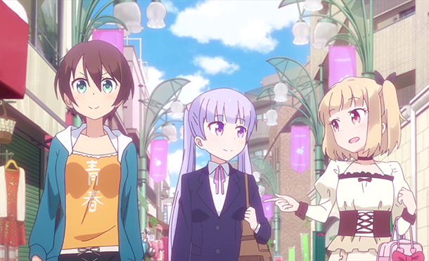 NEW GAME! http//anilist.co/anime/21455/NEWGAME! ニューゲーム