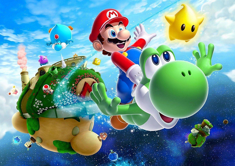 Decouvrez Super Mario Galaxy 2 Sur Wii Super Mario Galaxy Super Mario Mario Yoshi