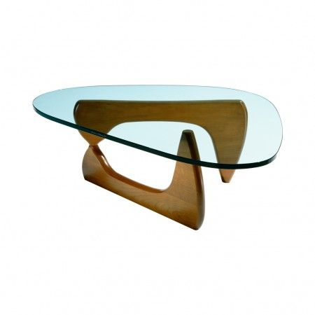Noguchi Coffee Table Walnut Base