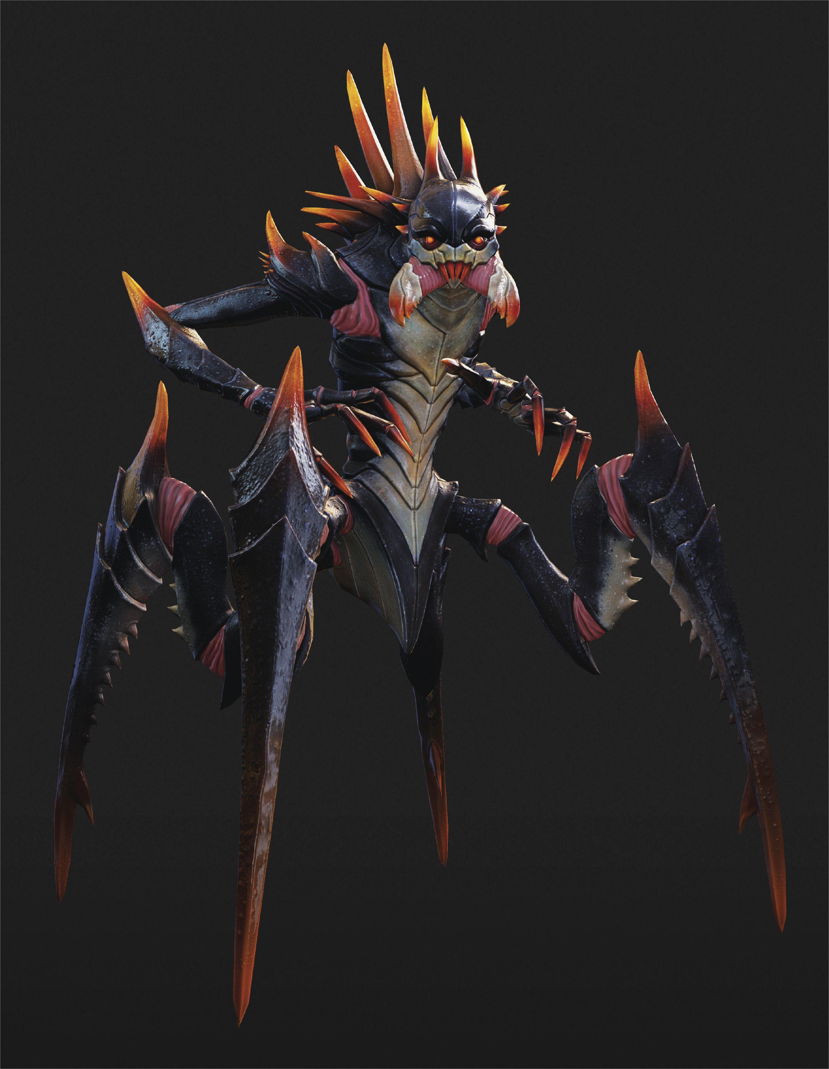 The Concept Art Of Xcom 2 Creature Concept Art Alien