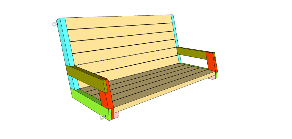 56 diy porch swing plans free blueprints diy porch porch swings weve collected a list of some of the best diy porch swing plans that you can build yourself with links to the printable designs solutioingenieria Gallery