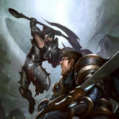 Darius vs Garen...my favorite lane. | League of Legends ...