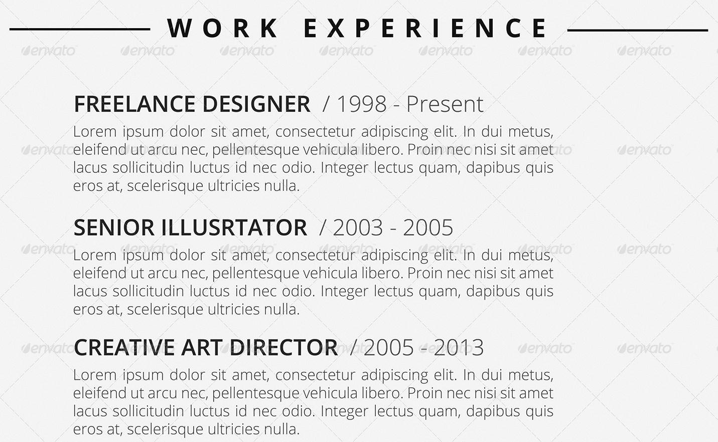 Clean resume ad clean sponsored resume clean
