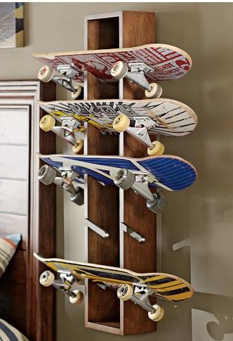 Porta Skate Muito Criativo! Skaten, Regal, Skateboard Möbel, Kinderzimmer,  Wohnzimmer,