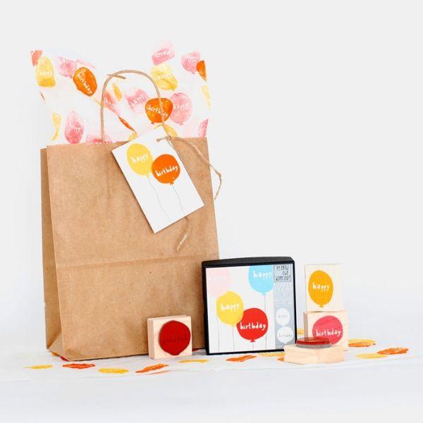 Birthday Balloon Stamp Kit now in Stock....