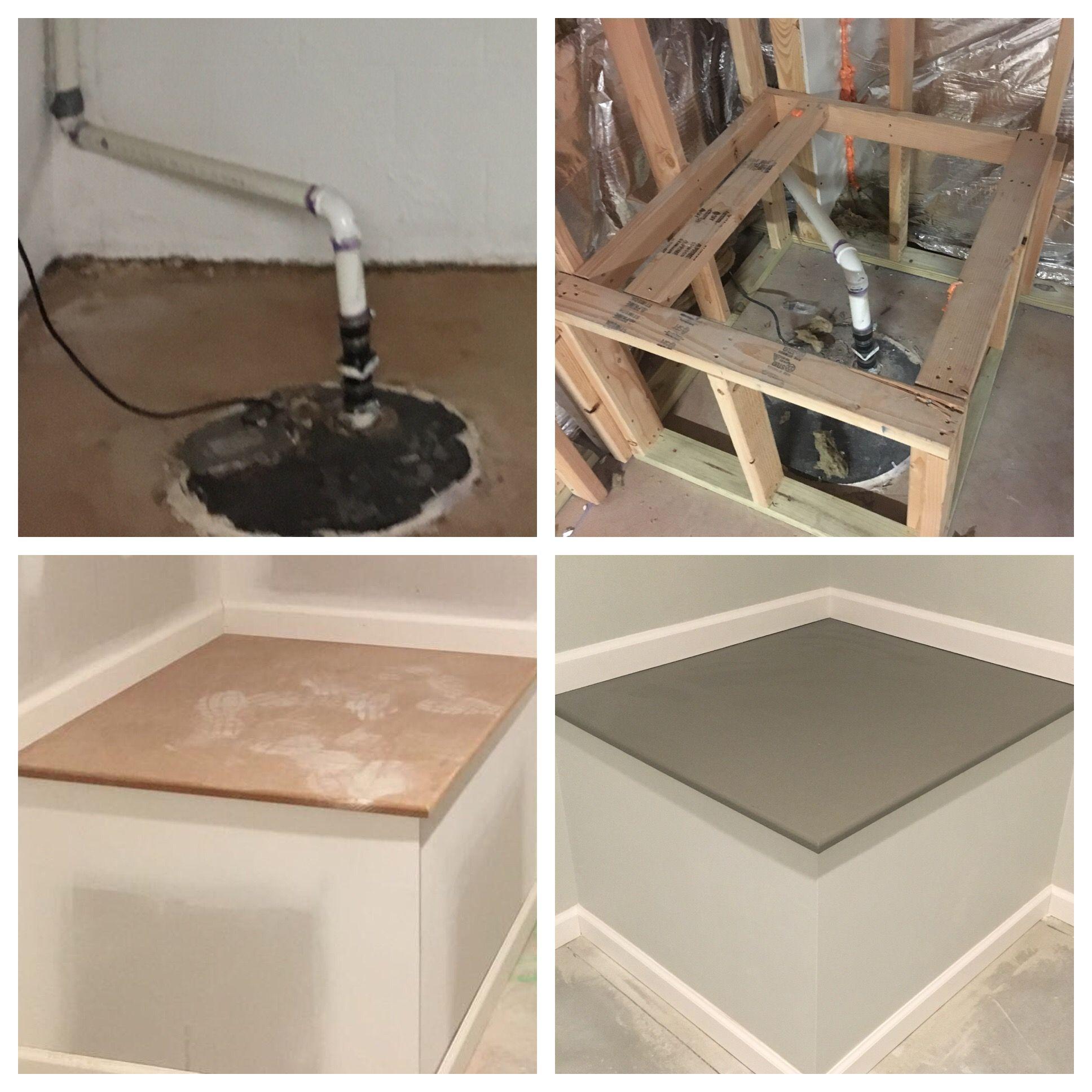 Basement Bathroom Ideas Finishing Basement Basement Makeover