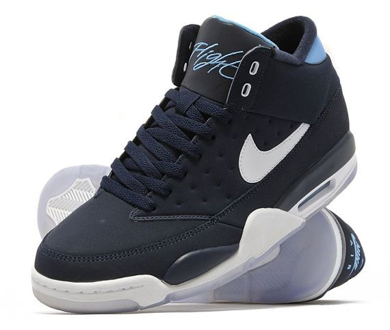 Nike Air Flight Classic Obsidian/White Size 13