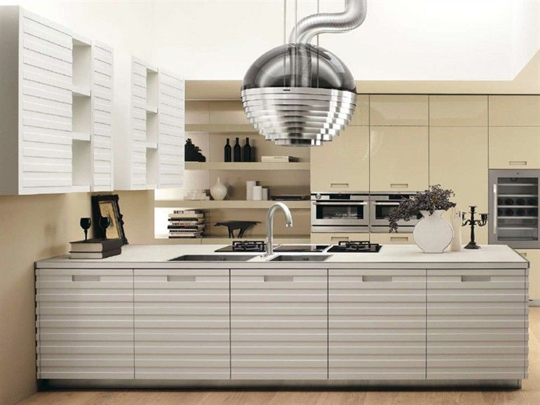 Superieur Fitted #kitchen GRANDE CUISINE By SALVARANI | #design Castiglia Associati  #white