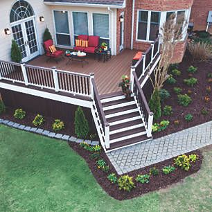 Trex® - Before and After Makeover Designs of Decks and Patios | Deck ...