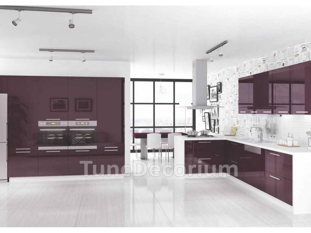 Koyu renkli modern bambu mutfak dolab modeli moda dekorasyonlar - Akrilik Mutfak Dolab Kategorisine Ait M Rd M Akrilik Mutfak Dolab Bilgileri Akrilik Mutfak Dolab Fiyatlar