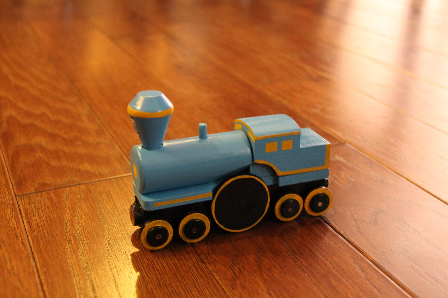 Handmade Wooden Toy Train Little Engine That Could Mah Tah Friends