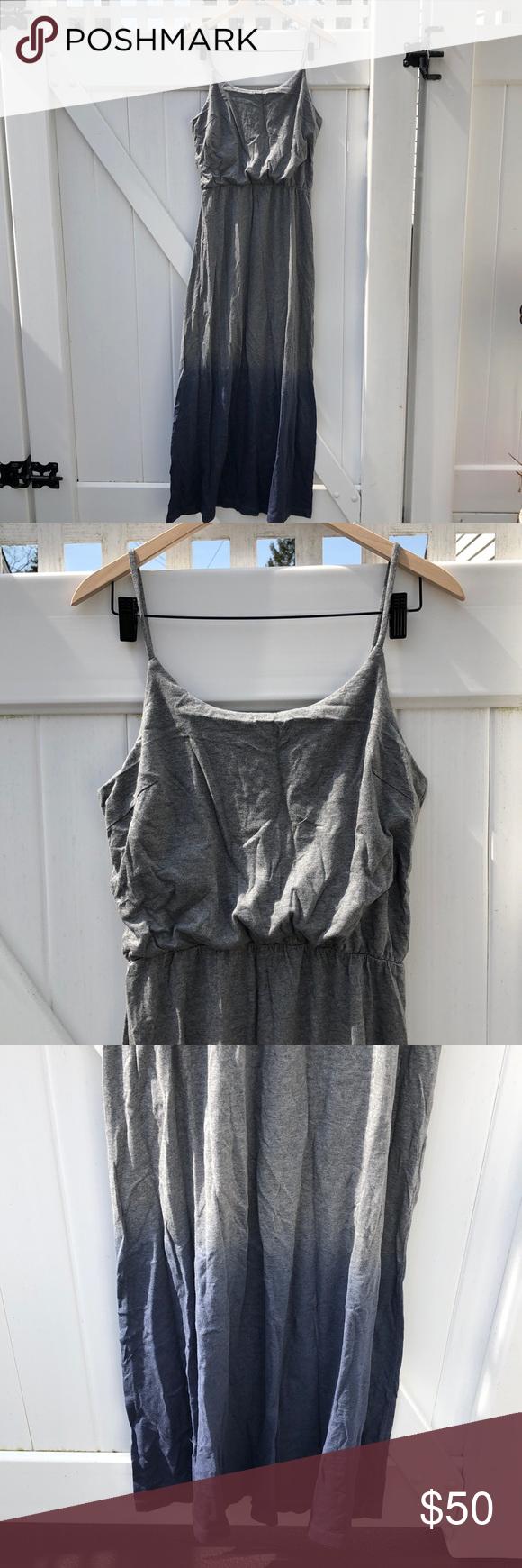 Gap Maxi Dress In Dip Dye Grey Blue Jersey Gap Maxi Dress Maxi Jersey Dress Maxi Dress [ 1740 x 580 Pixel ]