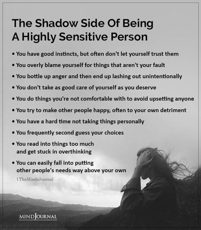 The Shadow Side Of Being A Highly Sensitive Person