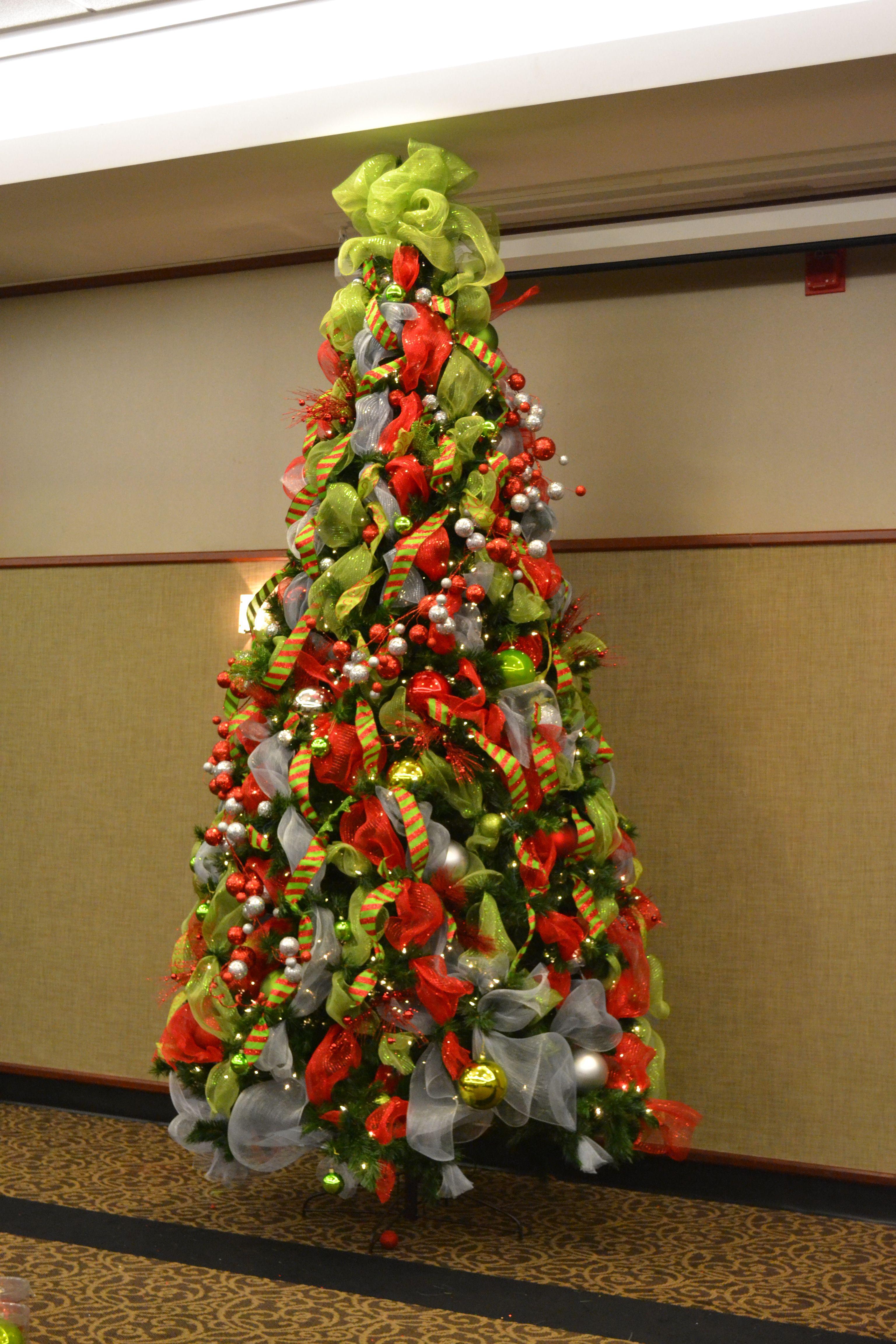 Christmas Tree Christmas Tree Decorations Diy Christmas Tree Topper Ribbon Christmas Tree Inspiration