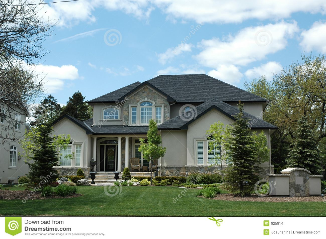 Stucco Stone House Stock Images Image 925914 Home