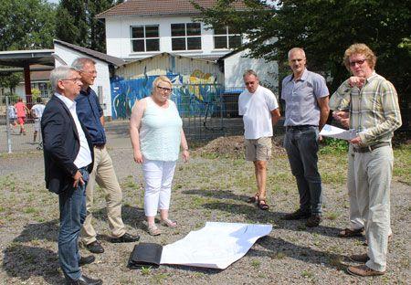 Neue Unterkunft für Flüchtlinge in Frankenforst