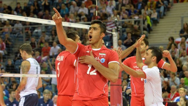Iran S National Volleyball Team Has Provided Another Major Hit At 2014 Fivb Men S World Championship In Poland World Championship Volleyball Volleyball Team