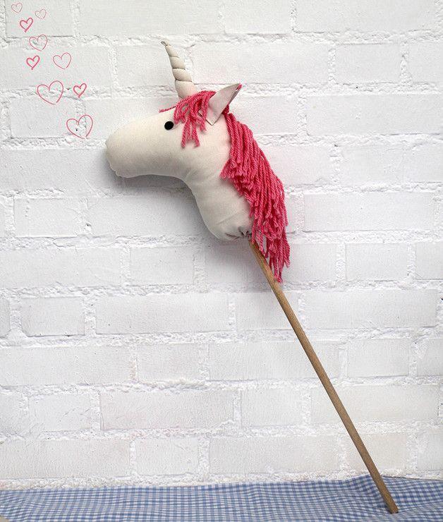 caballos de juguete con palo - Buscar con Google | unicornio party ...