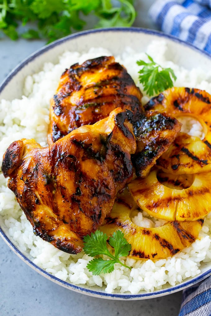 Hawaiian Chicken Recipe Grilled Chicken Pineapple Chicken Chicken Grilling Dinner Pine Grilled Pineapple Chicken Grilled Chicken Recipes Chicken Dinner