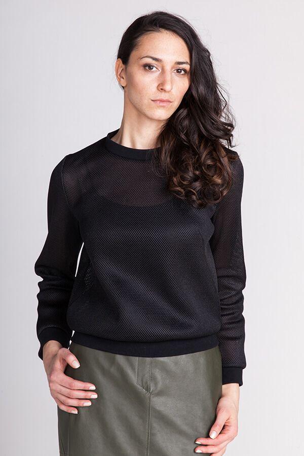 Sloane Sweatshirt | Schnittmuster Blusen & Shirts | Pinterest ...