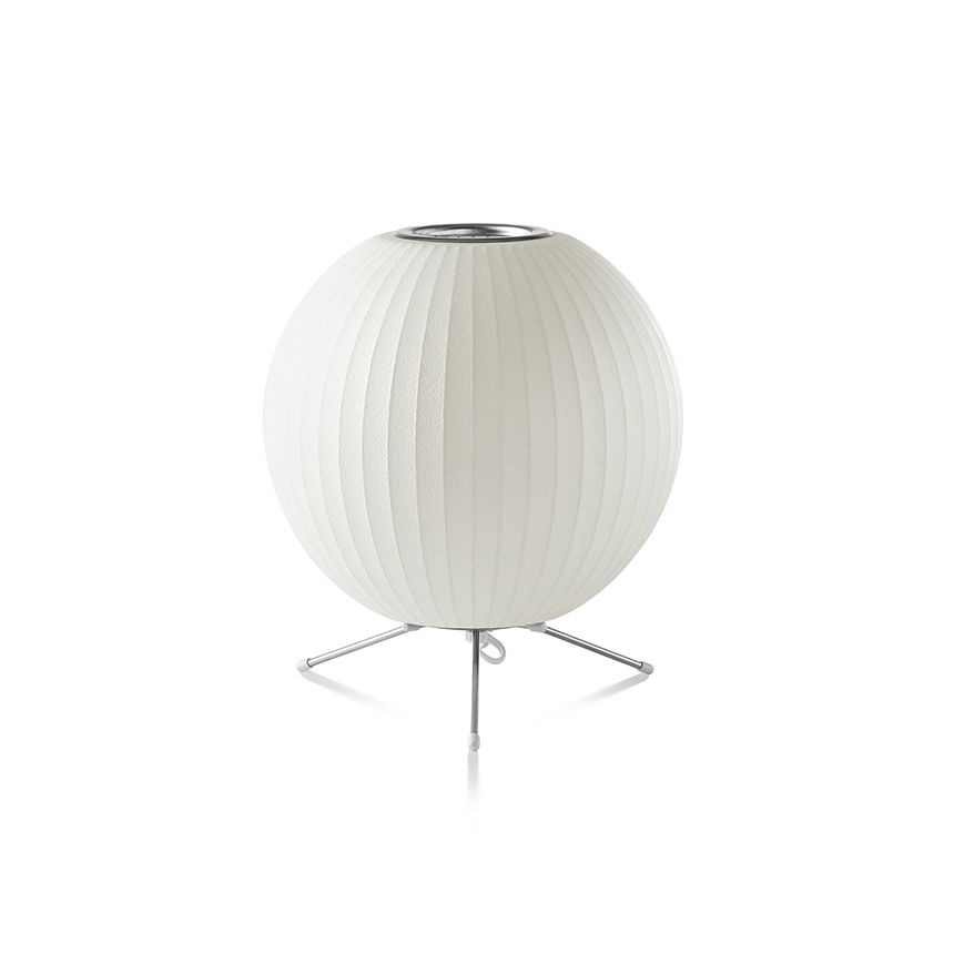 Nelson Tripod Ball Table By Herman Miller Get It At Lightform Ca Modern Table Lighting Nelson Bubble Lamp Bubble Lamps