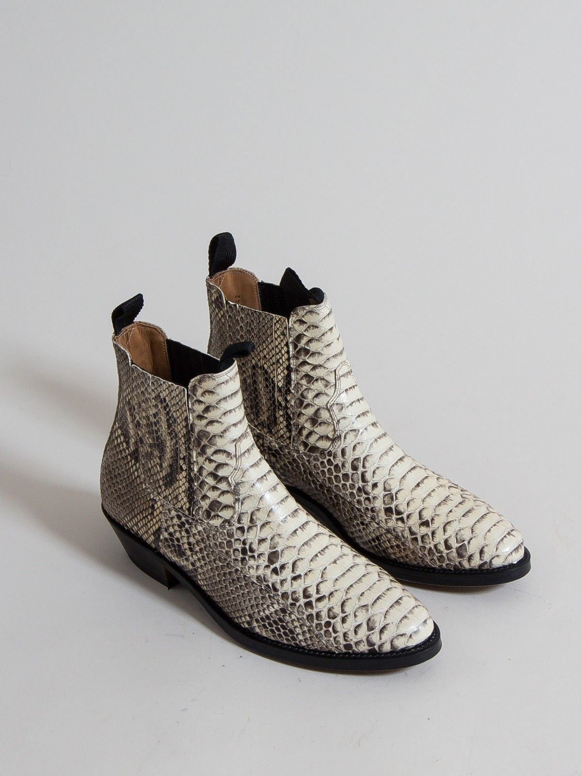 uncle bright, western chelsea, natural python | WARDROBE 19