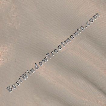 Organza Sheer Curtains In Burnt Orange Or Rust Color 84 96