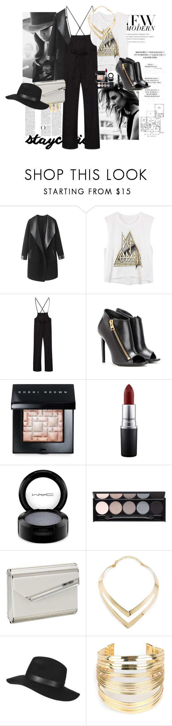 """""""new year 2016"""" by claire86-c on Polyvore featuring Cushnie Et Ochs, Columbia, Ulla Johnson, Tom Ford, Bobbi Brown Cosmetics, MAC Cosmetics, Witchery, Jimmy Choo, Fortuni and Topshop"""