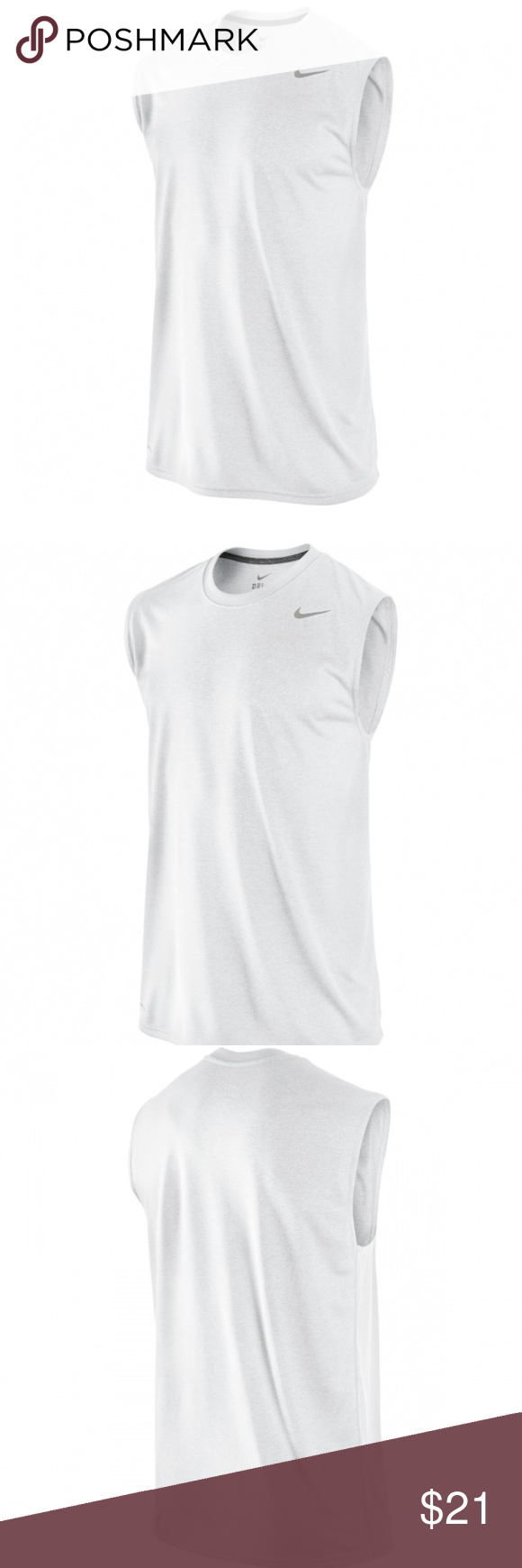 f83c10b1 Nike Dry Legend Poly Sleeveless Top Size XL NWT NWT | My Posh Picks