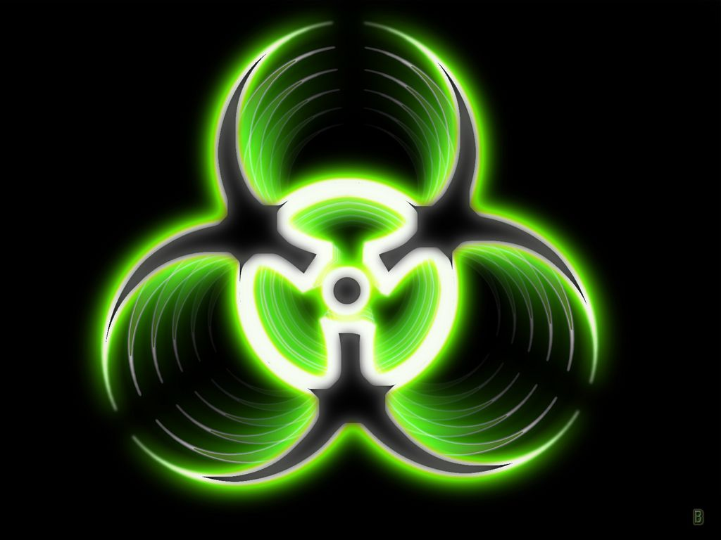 Biohazard green symbol logo picture and wallpaper on art biohazard green symbol logo picture and wallpaper biocorpaavc Image collections