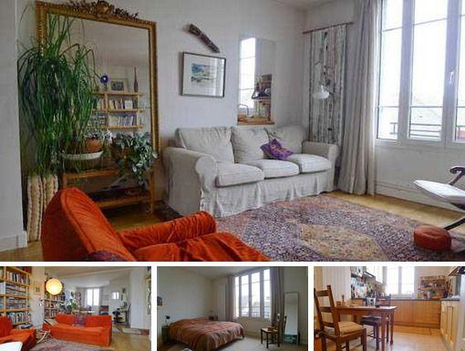 Rue des Prairies - Paris - 2-bedroom apartment for long ...