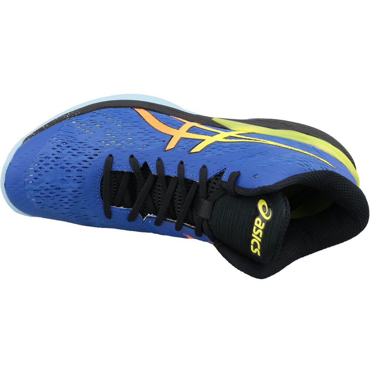 Asics Sky Elite Ff Mt M 1051a032 400 Volleyball Shoes Blue Blue Mens Volleyball Shoes Volleyball Shoes Blue Shoes