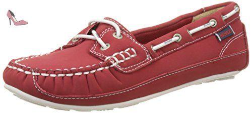 Sebago Docksides, Chaussures Bateau Femme, Rose (Fuchsia), 39 EU (6 UK)