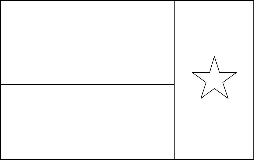 the best texas flag coloring page httpcoloringalifiahbiz