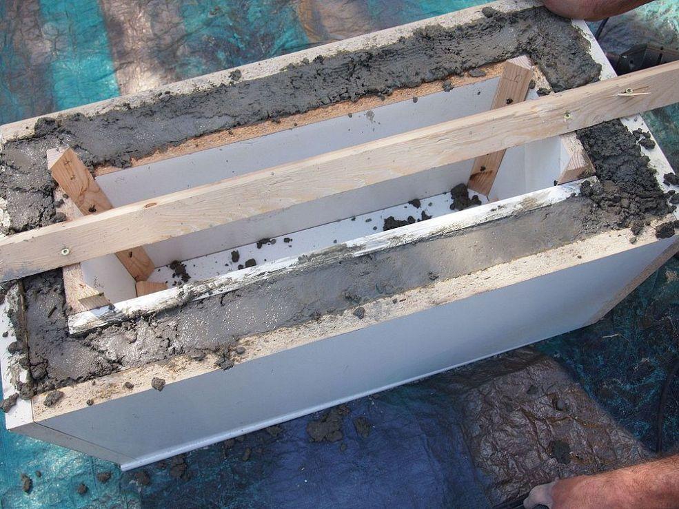 Diy Concrete Planter Neat Idea Diy Concrete Planters 400 x 300