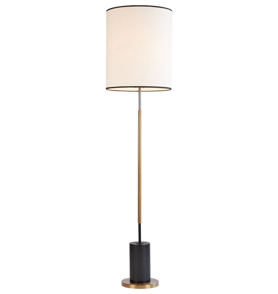 279  sc 1 st  Pinterest & Cylinder Floor Lamp | Antiques Socket and Fabric shades azcodes.com
