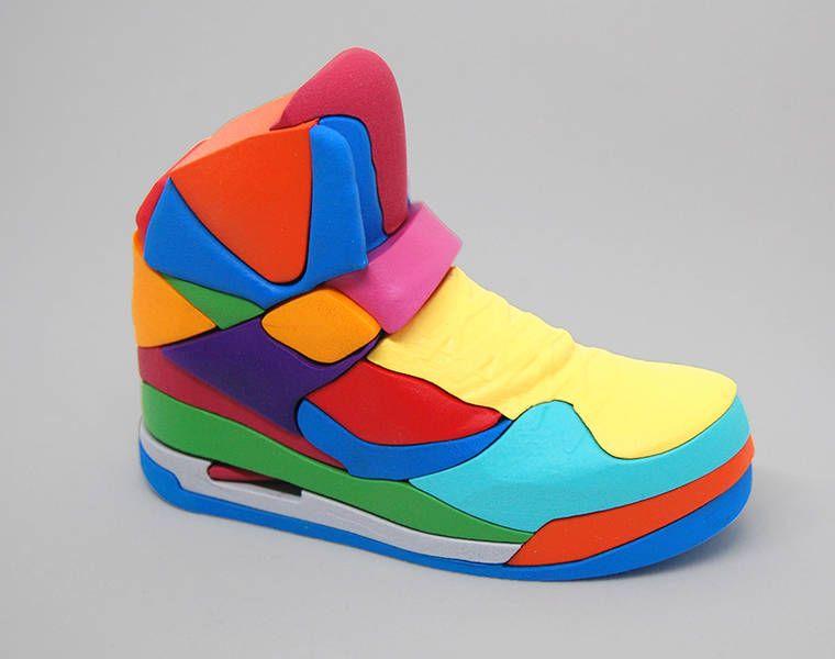 magasin en ligne efb64 d0173 NIKE Puzzle – La célèbre Air Jordan devient un puzzle coloré ...