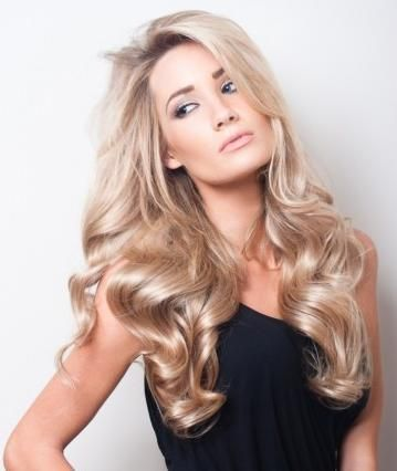 cool champagne blonde hair with darker roots - Google Search ...